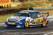 99215 - Jason Bright  Ford Falcon AU -  Phillip Island 1999 - Photographer Darren House