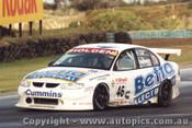 99218 - John Faulkner  Holden Commodore VT -  Phillip Island 1999 - Photographer Darren House