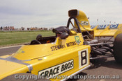 73527 -  John Leffler - Elfin MR5 - 14th October 1973 - Phillip Island - Photographer Peter D Abbs