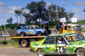 81783 - J. Faulkner / G. Dumbrell -  Ford Escort 2.0GL -  Bathurst  1981 - Photographer Lance J Ruting