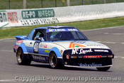 81795  - P. McLeod / P. Dane Maxda RX7 -  Bathurst  1981 - Photographer Lance J Ruting