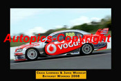 450 -  C. Lowndes / J. Whincup Ford Falcon BF - Bathurst 2008 - 12x18inches