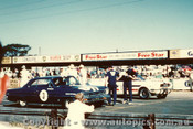 66077 - Norm Beechey Chev Nova  / Ian   Pete  Geoghegan Mustang - Bathurst 1966