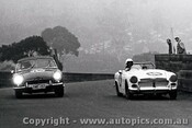67488 - K. Café -  Austin Healey / G. Wood - MGB  - A very foggy Catalina 23th April 1968 - Photographer Lance J Ruting