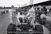67583 - Leo and Ian  Pete  Geoghegan  Lotus 39  -  Warwick Farm 3rd December 1967  - Photographer Lance J Ruting