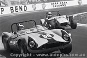 72446 - R. Watson Nauticus / B. Nibbs Lotus 7 - 17th August 1972 - Oran Park - Photographer Lance J Ruting