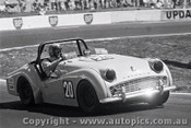 72447 - K. Gordon Triumph TR3A - 17th August 1972 - Oran Park - Photographer Lance J Ruting