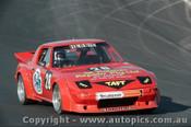 85413 - J. Keen Mazda RX7 - Oran Park 5th May 1985 - Photographer Lance J Ruting