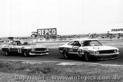 75046 - John McCormack Charger / Bob Jane Holden Monaro - Calder 1975 - Photographer Peter D Abbs
