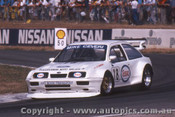 90013 - Mike Ceveri -  Ford Sierra  - Winton 1990 - Photographer Darren House