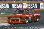 90014 - Ron Newbound  Ford Escort  - Winton 1990 - Photographer Darren House