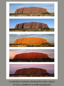 The Many Colours of Uluru -  Product Code - 31002