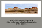 The Painted Desert - S.A. - Product Code 34001