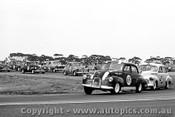 66078 -  #69 D. Price #54 B. Murphy #85 G. Ritter #27 G. Blanchard #40 G. Rogers Holden FX & FC - Calder 16th January 1966  - Photographer Peter D Abbs