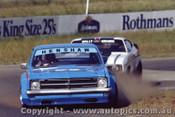 82044 - J. Henshaw Holden Monaro & W. Kramer Falcon - Oran Park 1982 - Photographer   Lance J Ruting
