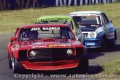 82049 - J. Barnes Mustang - J. Hamon Torana - D. Cooke Torana - Oran Park 1982 - Photographer   Lance J Ruting