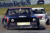 82051 - N. Delforce Leyland P76 & Henry Wolff Toyota Corolla  - Oran Park 1982 - Photographer   Lance J Ruting