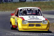 82063 - K. McGann Ford Escort - Oran Park 1982 - Photographer   Lance J Ruting