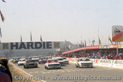 82700 - The Start of the 1982 James Hardie 1000  Bathurst  - Photographer Lance J Ruting