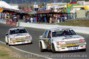 82768 - A. Grice / A. Browne & R. Wandless / G. Rogers - Holden Commodore VH - Bathurst 1982 - Photographer Lance J Ruting