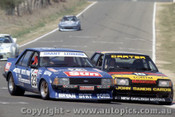 82799 - M. Carter / R. French Falcon XE & A. Grant / L. Leonard - Ford Falcon XD - Bathurst 1982 - Photographer Lance J Ruting
