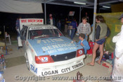 83766- Rebuilding the XE Commodore after a crash in practice - Harris / Cooke -  Bathurst 1983 - Photographer Lance J Ruting