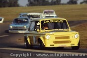 84061 - Ted Raczkowski Hillman Imp  Oran Park 1984 - Photographer Lance J Ruting