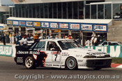 89828 - N. Compton / W. Percy  HRT Commodore VL -  Bathurst 1989 - Photographer Ray Simpson