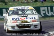 91760  -  P. Brock / A. Miedecke  - Holden Commodore VN  Bathurst 1991 - Photographer Ray Simpson
