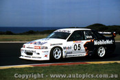 95019 - Peter  Brock - HRT Holden Commodore  - Phillip Island 1995
