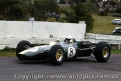 66581a  - Jim Clark Lotus 38 - Sandown Tasman Series 1966 - Photographer Peter D Abbs