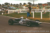 67589 - Clive Mills Elfin  -  Sandown 1967 - Photographer Peter D Abbs
