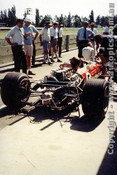 68592 - Graham Hill - Lotus 49 - Tasman Series - Warwick Farm - 1968 - Photographer - Brian Tobin