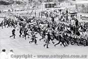 70301 - The Start of the Castrol Six Hour - 68 Bike Le Mans Start - Amaroo 18th October 1970 - Photographer Lance J Ruting