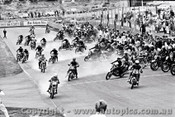70303 - The Start of the Castrol Six Hour - 68 Bike Le Mans Start - Amaroo 18th October 1970 - Photographer Lance J Ruting