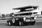 70482 - Bob Rowntree MG Midget - Warwick Farm 1970 - Photographer David Blanch