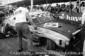74750  -  J. Goss / K Bartlett - 1st Outright & Class D  winner - Ford Falcon GT  XB  -  Bathurst 1974 - Photographer Lance J Ruting