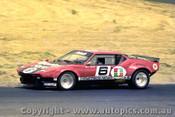 75415 - Rusty French  De Tomaso Pantera - Phillip Island 1975- Photographer Peter D Abbs