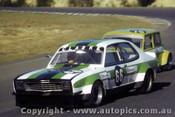 80059 - John Clarke Holden Torana & Darryl Gretgrix Morris Mini - Amaroo 1980 - Photographer Lance Ruting