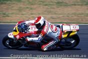 90306 - Niall Mackenzie Suzuki  Australian Moto GP Eastern Creek 1990 - Photographer Lance J Ruting
