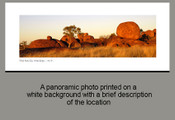 The Devils Marbles - N.T. - Product Code 31007 - Photographer David Blanch