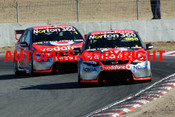 209002 - C. Lowndes  and  J. Whincup - Ford Falcon FG - Winton 2009 - Photographer Craig Clifford