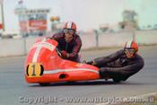 72313 - B. Woods & A. Martin   650 Triumph - Calder 1972 - Photographer Peter D Abbs