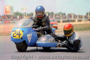 72314 - J. Venditti & T. Cacciotti  650 Triumph - Calder 1972 - Photographer Peter D Abbs
