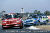 85035 - Mark Skaife Ford Laser - Calder 1985 - Photographer Ray Simpson