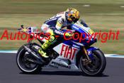 209304 - Valentino Rossi  Fiat Yamaha   - Phillip Island 2009 - Photographer Craig Clifford