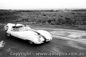 Frank Matich Lotus 15 - Phillip Island - 18th August 1960 - Photographer Peter D Abbs
