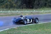 63561 - G. Hill - Ferguson P99 / Climax 2495cc 4cyl - Warwick Farm 1963 - Photographer Adrien Schagen