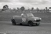 64078 -  Anne Malden  Mini Convertible - Calder 5th May 1964 - Photographer  Peter D Abbs