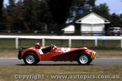 65463 - Bill March  Lotus Super 7  -  Warwick Farm May 1965  - Photographer Adrian Schagen